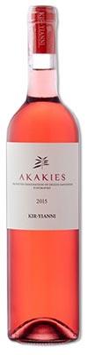 KIR YANNI, Akakies rosé, trocken. Gerne kochen - Mit Wein genießen