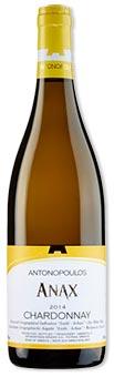 "*ANTONOPOLOUS - Chardonnay ""ANAX"" trocken. NIK THE GREEK"