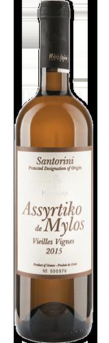Hatzidakis Assyrtiko de Mylos 2014. Vin du Sud