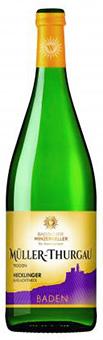"""*BADISCHER WINZERKELLER BREISACH - Müller-Thurgau """"Hecklinger Burg"""" Qualitätswein trocken"""