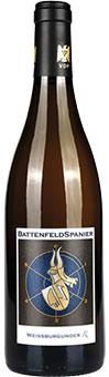 """*BATTENFELD-SPANIER – Weißer Burgunder """"R"""" trocken 2018."""