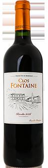 *CHÂTEAU CLOS FONTAINE – Bordeau rouge 2016
