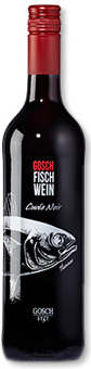 Gosch Fischwein Cuvée Noir. Gernekochen - Mit Wein genießen