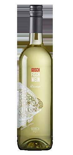 GOSCH-FISCH-WEIN - Rivaner 2015. Gernekochen - Mit Wein genießen