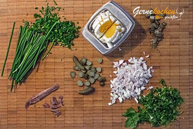 Remoulade selber machen mit Mayonnaise – Arbeitsschritt 2