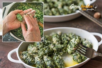 Spinat-Ricotta-Gnocchi Rezept