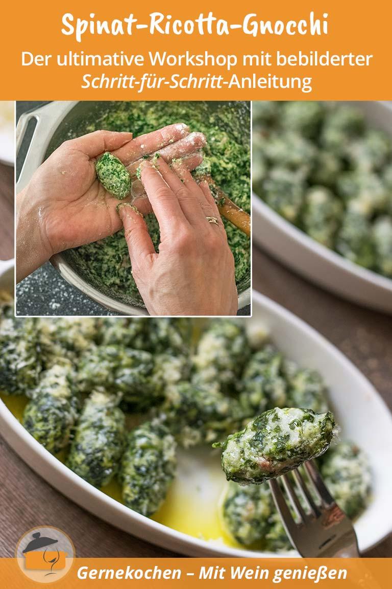 Spinat-Ricotta-Gnocchis selber machen