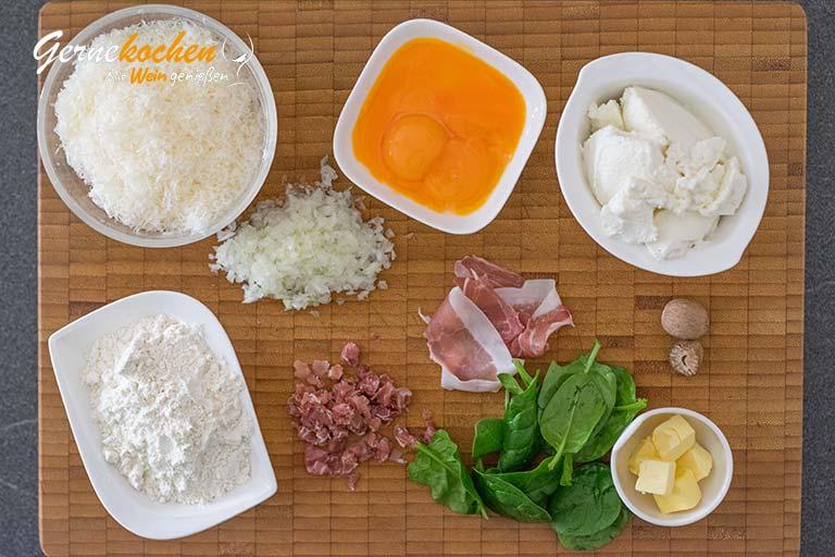 Spinat-Ricotta-Gnocchis selber machen - Zubereitungsschritt 1