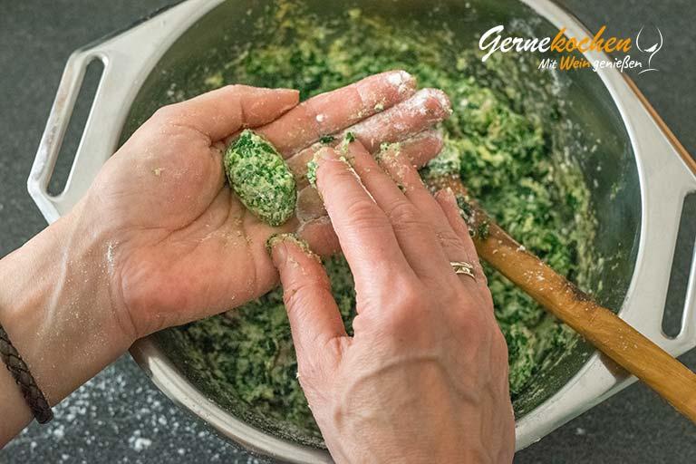 Spinat-Ricotta-Gnocchis selber machen - Zubereitungsschritt 5.3