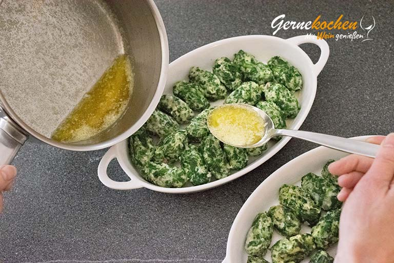 Spinat-Ricotta-Gnocchis selber machen - Zubereitungsschritt 7.2