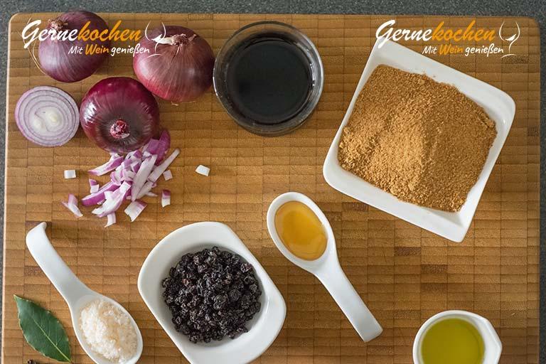 Zwiebelmarmelade selber machen – Zubereitungsschritt 1