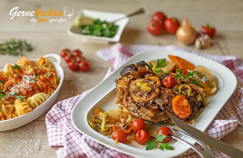 Ossobuco alla milanese - Slow Cooker-Rezept