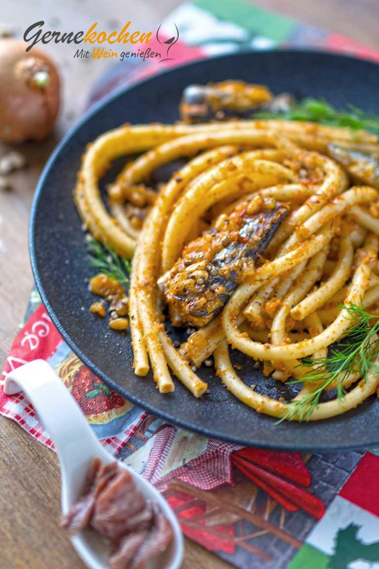 Pasta con la sarde alla siciliana